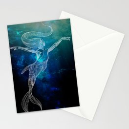 Doll Fins Stationery Cards
