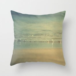 Glup glup Throw Pillow