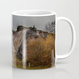Dinas Rock at Pontneddfechan Coffee Mug