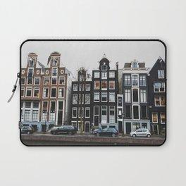 Amsterdam Houses Laptop Sleeve