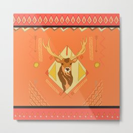 Indian style color Metal Print