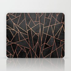 Shattered Black / 2 Laptop & iPad Skin