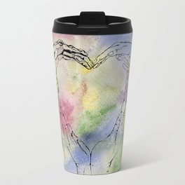 We Share One Heart Travel Mug