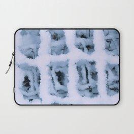 Snow Pattern Laptop Sleeve