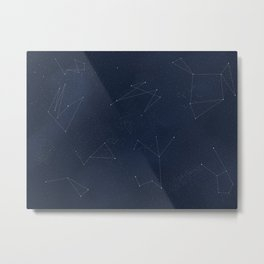 Somewhere in Time - Constellations Metal Print