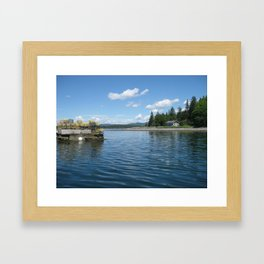Boating Framed Art Print