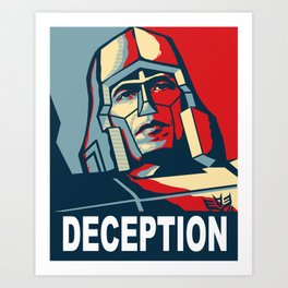 Deception 1 Art Print