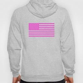 U.S. Flag: Pink Hoody