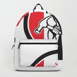 Canadian Handyman Canada Flag Icon Backpack