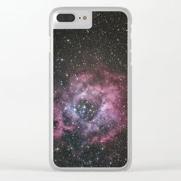 Rosette Nebula Clear iPhone Case