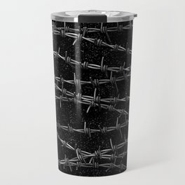 Bouquets of Barbed Wire Travel Mug