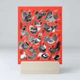 Lil Cluckers Mini Art Print