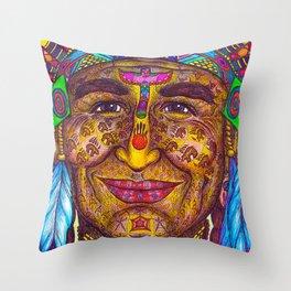 Wisdom Keeper Color #31 (Leadership) Throw Pillow