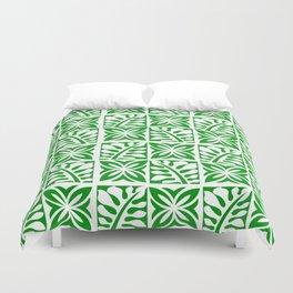 Green Christmas Duvet Cover