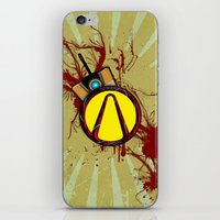 borderlands iPhone & iPod Skins featuring Borderlands by erndub