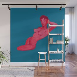 pink ego Wall Mural