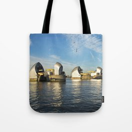 Thames Barrier Tote Bag