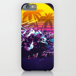 Jax league of legends game 80s palmvintage iPhone Case