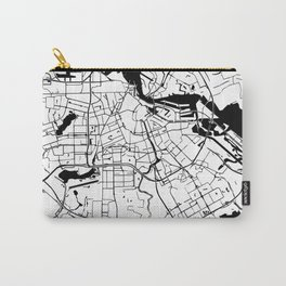 Amsterdam Minimal Map Carry-All Pouch