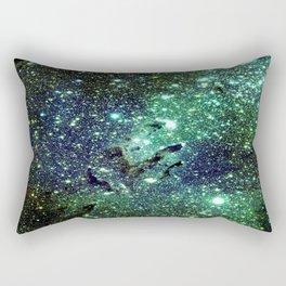 Green Eagle Nebula / Pillars of Creation Rectangular Pillow
