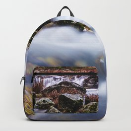 Deep in the woods there was a magic river Backpack