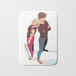 Dynamic Duo Bath Mat