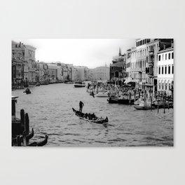 Grand Canal, Venice Canvas Print