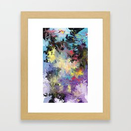 Working It Out Framed Art Print