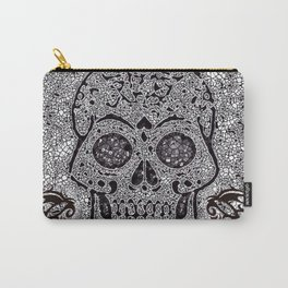 Mosaic Skull Carry-All Pouch