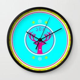 Holiday Celebrations Wall Clock