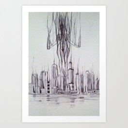 The Dissolver Art Print