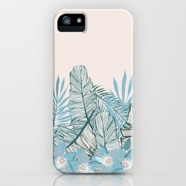 Jungle moon iPhone Case