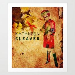 Kathleen Neal Cleaver Art Print