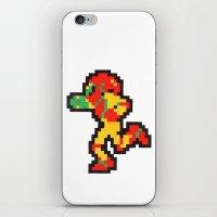 samus iPhone & iPod Skins featuring samus by Walter Melon