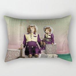 The Country Collies Rectangular Pillow