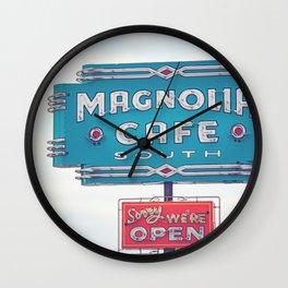 Magnolia Cafe Austin Texas Wall Clock