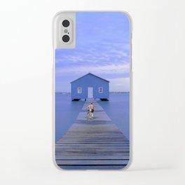Alone Clear iPhone Case