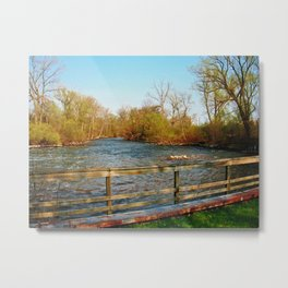 Outside the City Metal Print