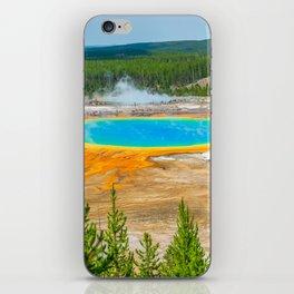 Yellowstone National Park Grand Prismatic Geyser iPhone Skin