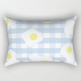 Sunny Side Up + Gingham Rectangular Pillow