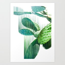 Faster than the speed of CACTUS Art Print