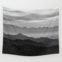 Mountains mist. BN Wall Tapestry