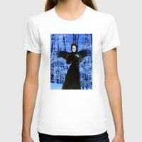 edgar allan poe T-shirts featuring Nevermore - Edgar Allan Poe by Danielle Tanimura