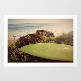 Surfbort Art Print