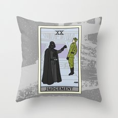 Judgement - Tarot Card Throw Pillow