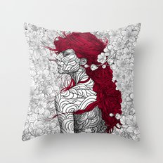 The Sacred Shade Throw Pillow