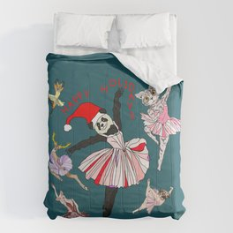 Hipster Holiday Ballerinas Comforters