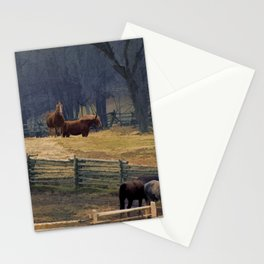 Wilderness Horse Ranch Stationery Cards