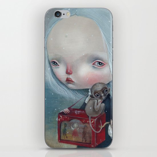 The sea is calm iPhone & iPod Skin
