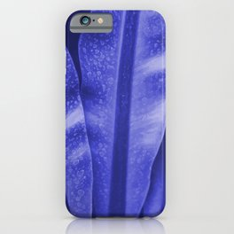 Big Leaves Illustration Colorful  iPhone Case